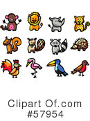 Animals Clipart #57954