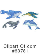 Royalty-Free (RF) Animals Clipart Illustration #63781