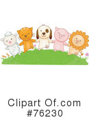 Royalty-Free (RF) Animals Clipart Illustration #76230