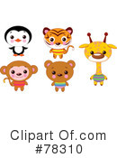 Royalty-Free (RF) Animals Clipart Illustration #78310