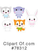 Royalty-Free (RF) animals Clipart Illustration #78312