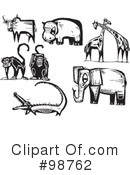 Royalty-Free (RF) Animals Clipart Illustration #98762
