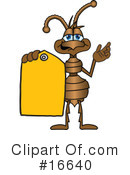 Ant Character Clipart #16640 by Toons4Biz