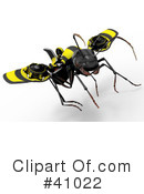 Ant Clipart #41022 by Leo Blanchette