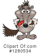 Anteater Clipart #1280534