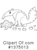 Anteater Clipart #1375013