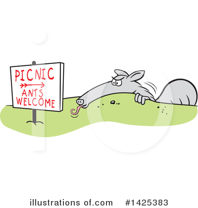 Picnic Clipart #1425383 by Johnny Sajem