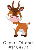 Antelope Clipart #1184771 by Pushkin