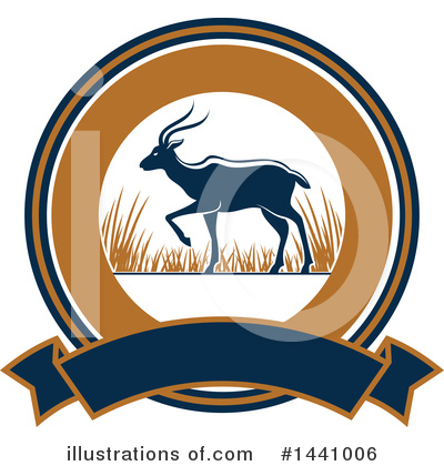 Deer Clipart #1441006 by Vector Tradition SM