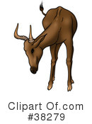 Antelope Clipart #38279 by dero