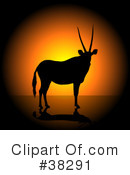 Antelope Clipart #38291 by dero