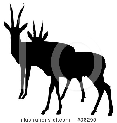 Antelope Clipart #38295 by dero