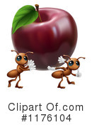 Royalty-Free (RF) Ants Clipart Illustration #1176104