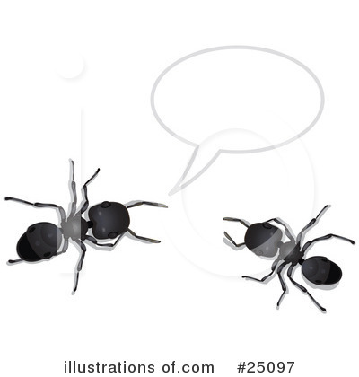 Royalty-Free (RF) Ants Clipart Illustration by Leo Blanchette - Stock Sample #25097