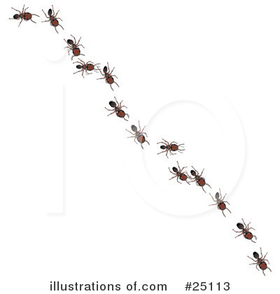 Royalty-Free (RF) Ants Clipart Illustration by Leo Blanchette - Stock ...