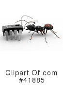 Ants Clipart #41885 by Leo Blanchette