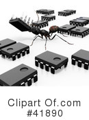 Ants Clipart #41890 by Leo Blanchette