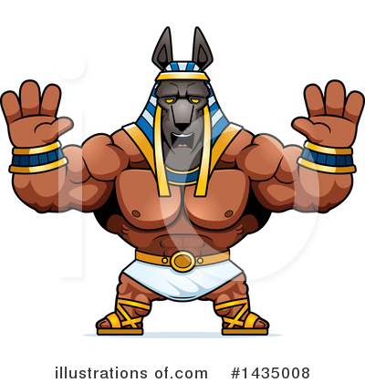 Anubis Clipart #1435008 by Cory Thoman