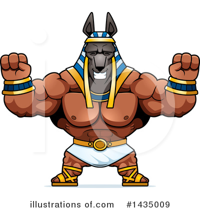 Anubis Clipart #1435009 by Cory Thoman