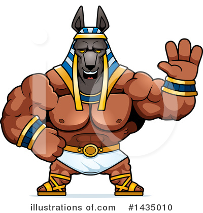 Anubis Clipart #1435010 by Cory Thoman
