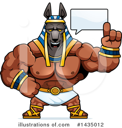 Anubis Clipart #1435012 by Cory Thoman