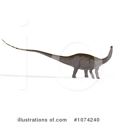 Royalty-Free (RF) Apatosaurus Clipart Illustration by Ralf61 - Stock Sample #1074240