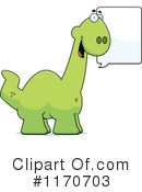 Apatosaurus Clipart #1170703 by Cory Thoman