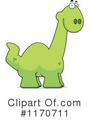 Apatosaurus Clipart #1170711 by Cory Thoman