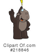 Royalty-Free (RF) Ape Clipart Illustration #218846