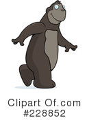 Royalty-Free (RF) Ape Clipart Illustration #228852