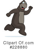 Royalty-Free (RF) Ape Clipart Illustration #228880