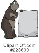 Royalty-Free (RF) Ape Clipart Illustration #228899