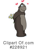 Royalty-Free (RF) Ape Clipart Illustration #228921