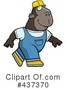 Royalty-Free (RF) Ape Clipart Illustration #437370