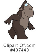 Royalty-Free (RF) Ape Clipart Illustration #437440