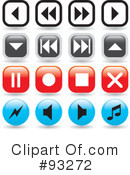 App Buttons Clipart #93272 by Arena Creative