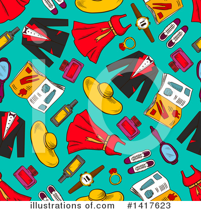 Fashion Clipart #1417623 by Vector Tradition SM