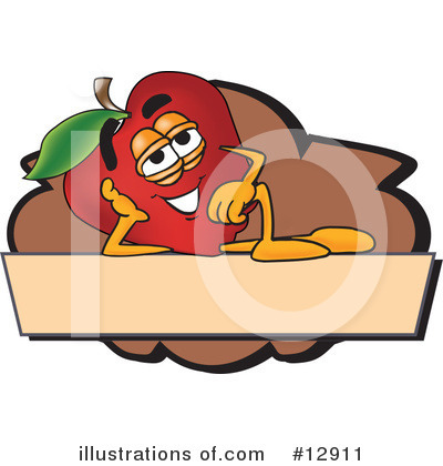 Apple Clipart #12911 by Toons4Biz