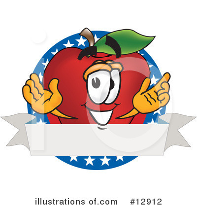 Apple Clipart #12912 by Toons4Biz