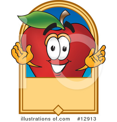 Apple Clipart #12913 by Toons4Biz