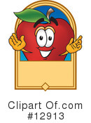 Apple Character Clipart #12913 by Toons4Biz