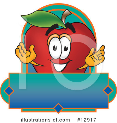 Apple Clipart #12917 by Toons4Biz