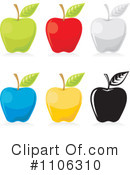 Royalty-Free (RF) Apple Clipart Illustration #1106310