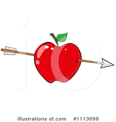 Red Apples Clipart #1113099 by Hit Toon