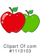 Royalty-Free (RF) apple Clipart Illustration #1113103