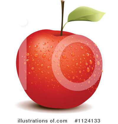 Red Apples Clipart #1124133 by Graphics RF