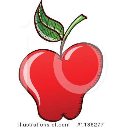 Red Apples Clipart #1186277 by Zooco