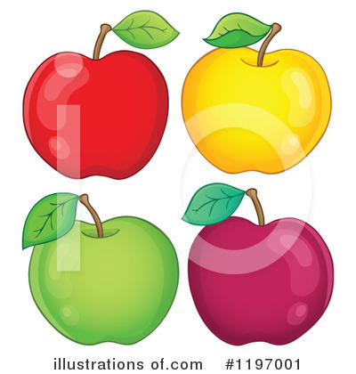 Apple Clipart #1197001 by visekart