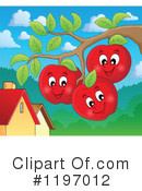 Royalty-Free (RF) Apple Clipart Illustration #1197012