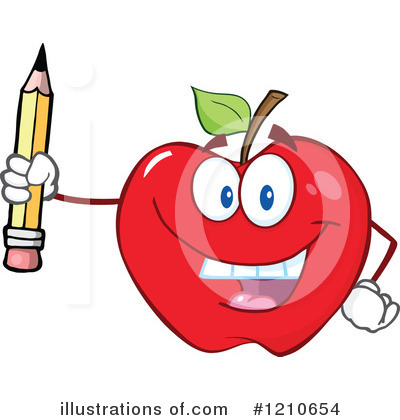 Pencil Clipart #1210654 by Hit Toon